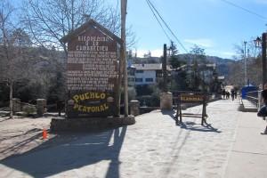 Entrada a La Cumbrecita
