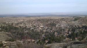 Desde Cerro Wank