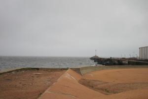 En zona portuaria