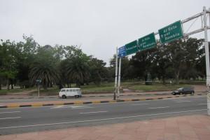 Entrada a Parque Rodo