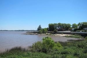 El rio desde el casco historico
