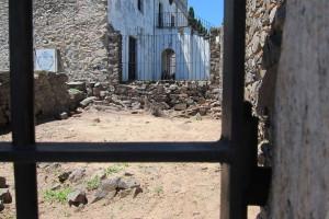 Ruinas de la Residencia del Virrey Cisneros