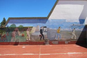 Mural en la Escuela
