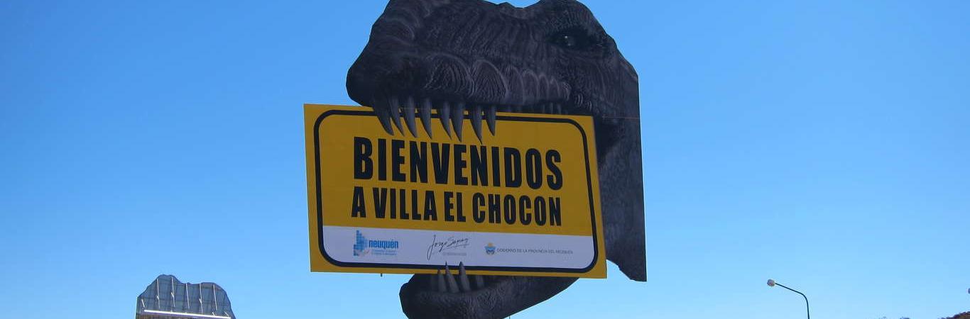 Entrada a El Chocon