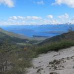 Los lagos desde un lado del Bayo