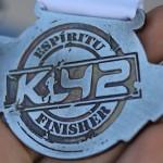 K42 2015 Medalla Dorso