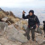 Cerro Champaqui: Llegando a la Cueva