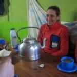 Cerro Champaqui: Pilar y la pava gigante