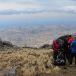 Cerro Champaqui, cueva, equipo