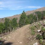 Inicio del sendero al Champaqui