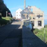 Camino a la prision de Alcatraz