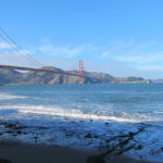 Al pie del Golden Gate Bridge