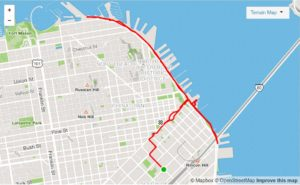 Running Route: Embarcadero